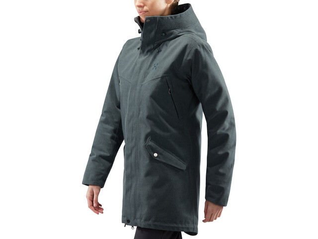 31d70903 Haglöfs Siljan Parka Women mineral melange at Addnature.co.uk